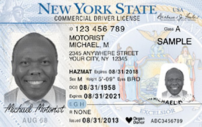 Image of New York's Driver's License